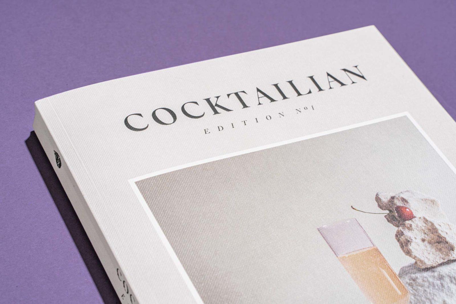 Editorial Design Cocktailian Bookazin