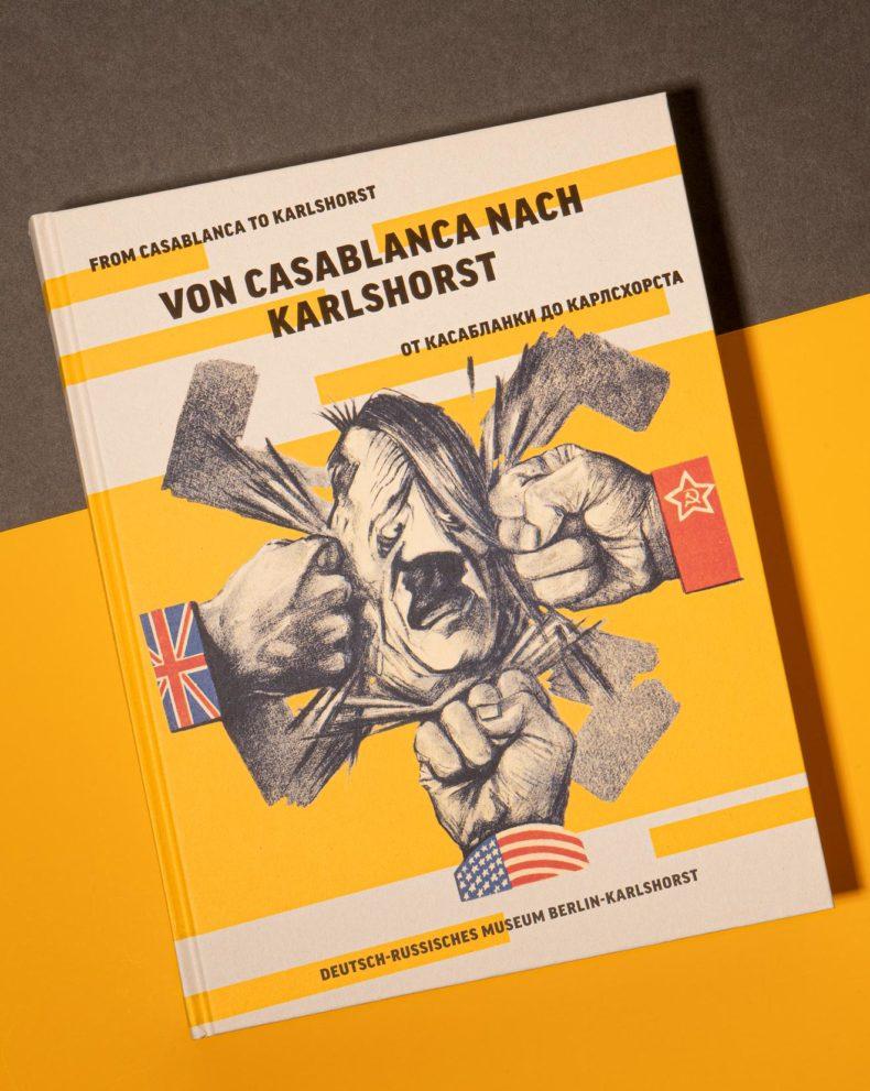 Buch: Von Casablanca nach Karlshorst - Editienne Kommunikationsdesign