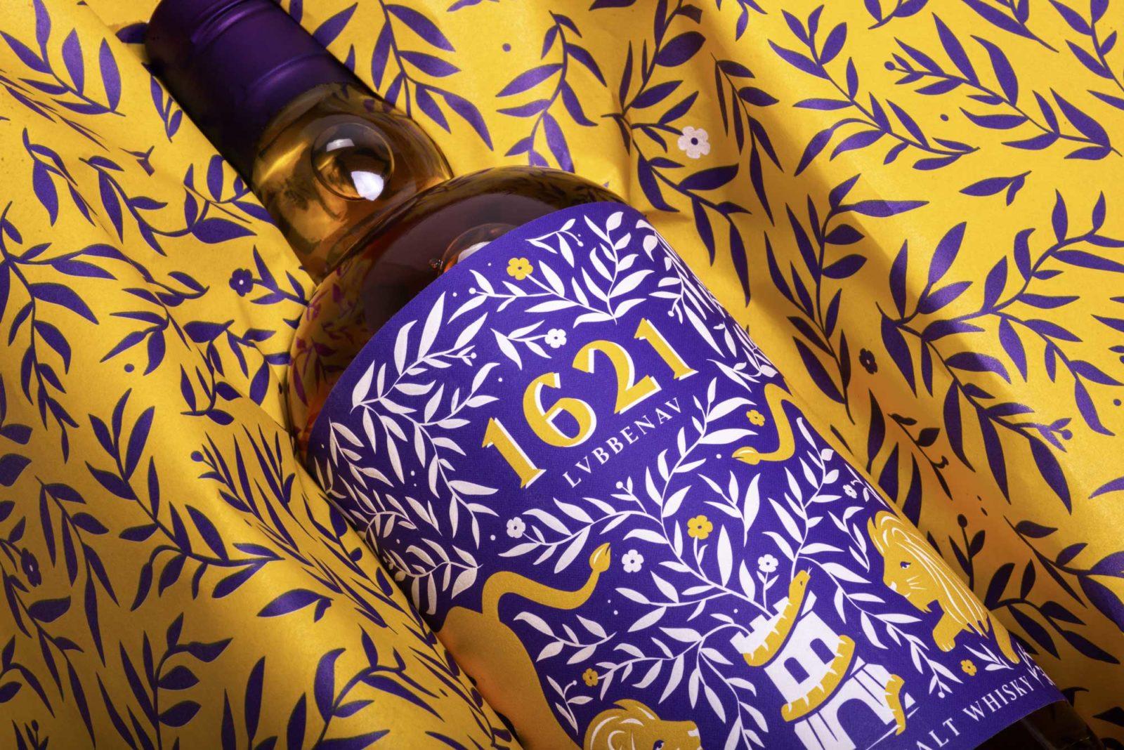 Packaging Design - Whisky Etikett Pralinenschachtel Editienne